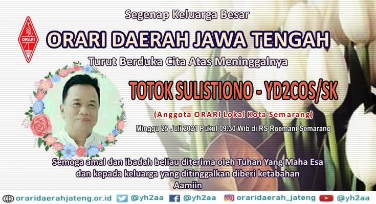 Berita Duka YD2COS/SK