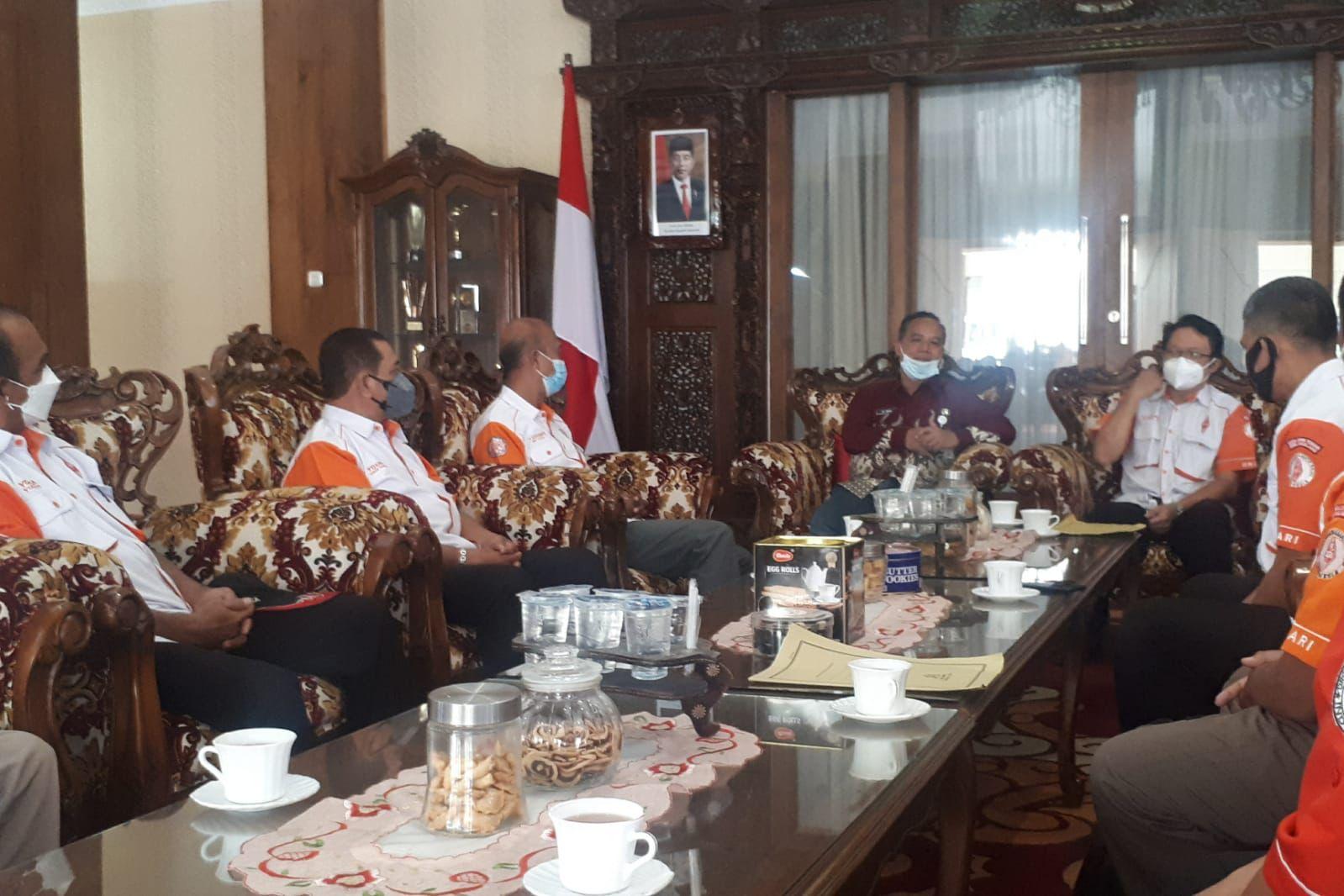 Audensi ORARI Lokal Kota Magelang dengan Walikota Magelang Jawa Tengah