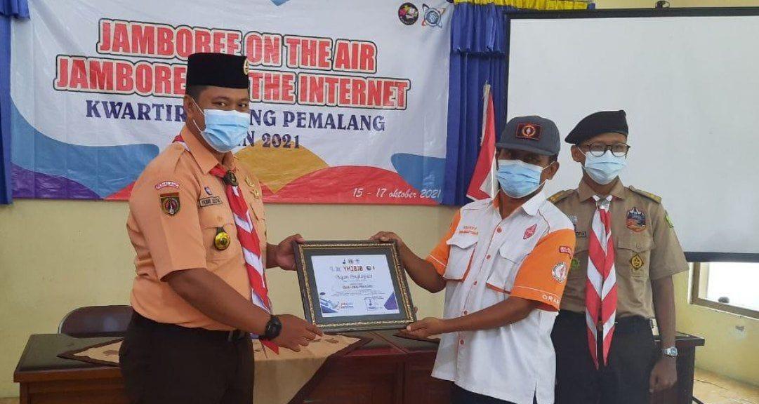 Lomba Foto dan Konten Kreatif mewarnai JOTA JOTI 2021 ORARI Lokal Kabupaten Pemalang